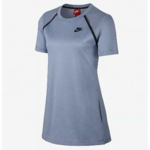 Nike Glacier Gray Bonded Short Sleeve Shirt